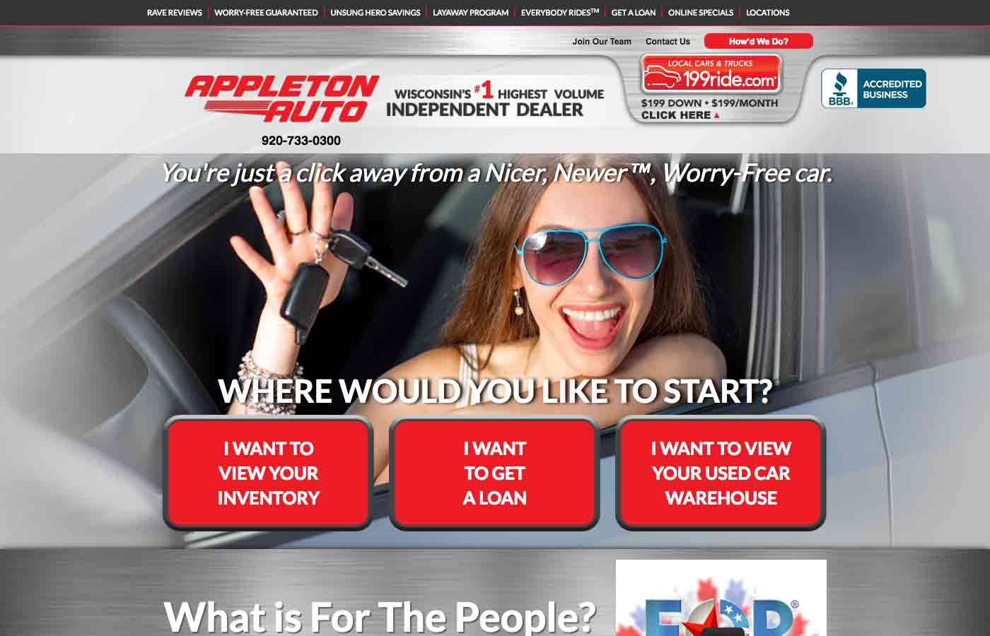 appleton auto dealership website